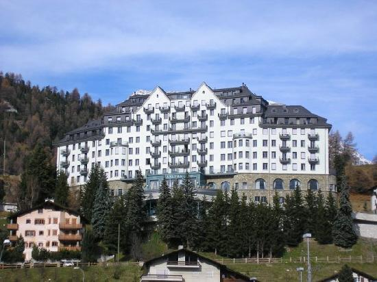 Carlton Hotel St. Moritz : VIEW OF CARLTON HOTEL IN ST MORITZ