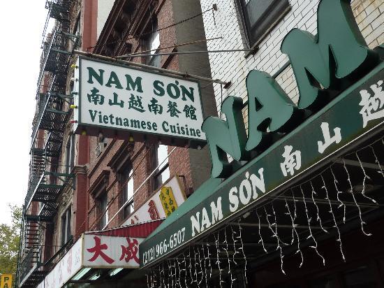 Nam Son Picture Of Nam Son Vietnamese Restaurant New York