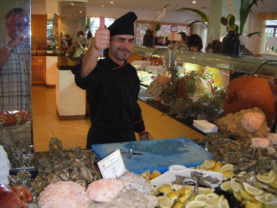 Iberostar Ciudad Blanca: Resident chef - seafood night