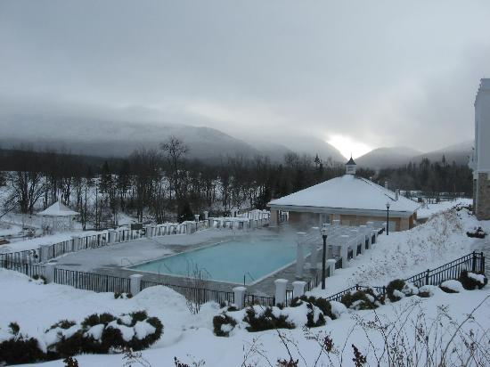 Bretton Woods, Nueva Hampshire: Outside swimming pool