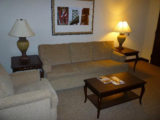 Embassy Suites by Hilton Philadelphia Airport: The Living Room