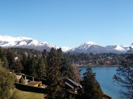 Charming - Luxury Lodge & Private Spa: Vista desde habitacion