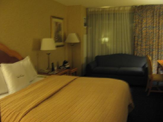DoubleTree by Hilton Hotel Santa Ana - Orange County Airport: Bedroom
