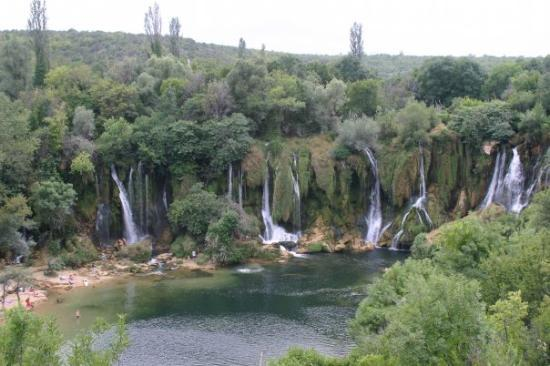 Capljina, Bosnien-Herzegovina: waterfall in Bosnia, taken during a mission trip