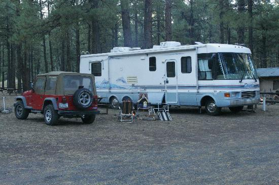 Fort Tuthill County Campground : Our Campsite