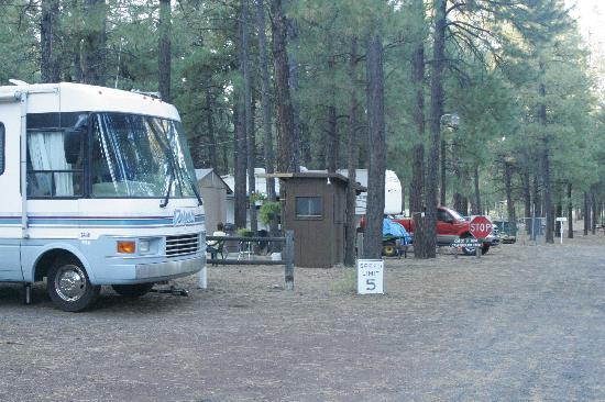 Fort Tuthill County Campground : Camp Host Site