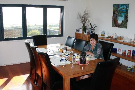 Waipu, New Zealand: Dinning room