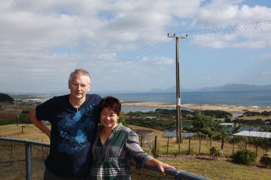 Waipu, Nowa Zelandia: at the balcony