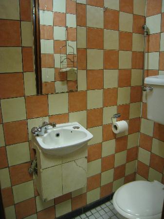 The Ivy House Hotel: Strange bathroom