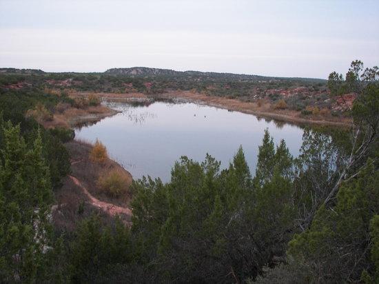 Copper Breaks State Park: Big pond