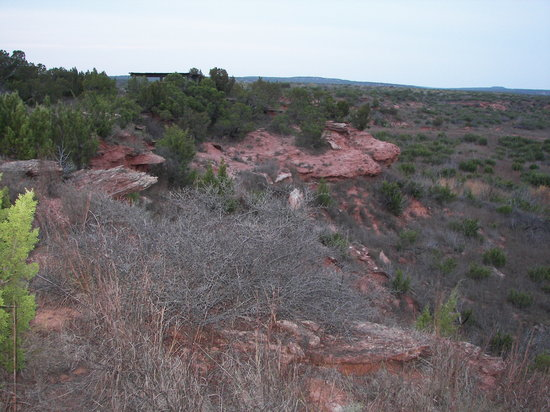 Quanah, Teksas: view from campsite