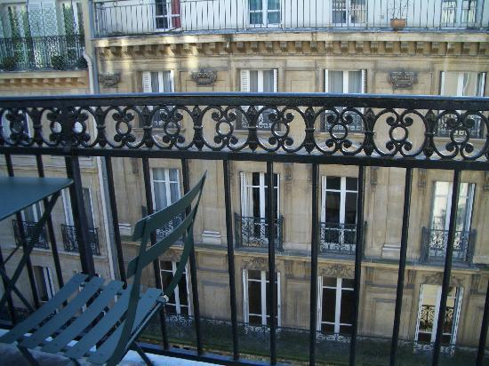 My french balcony love it picture of hotel du college for Balcony french