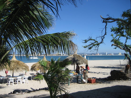 Mazatlan, Messico: View from Deer Island