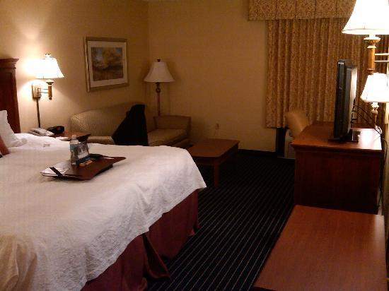 Hampton Inn St. Clairsville: Typical Room