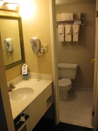 Simple bathroom - Picture of Knott's Berry Farm Hotel ...