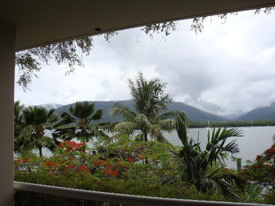 Hilton Cairns: Our view (bad weather this day)