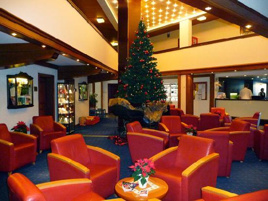 Goslar, Deutschland: An der Rezeption zu Weihnachten