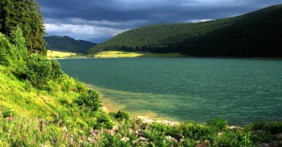 Miercurea-Ciuc, Romania: Lake (Miercurea Ciuc, Romania)