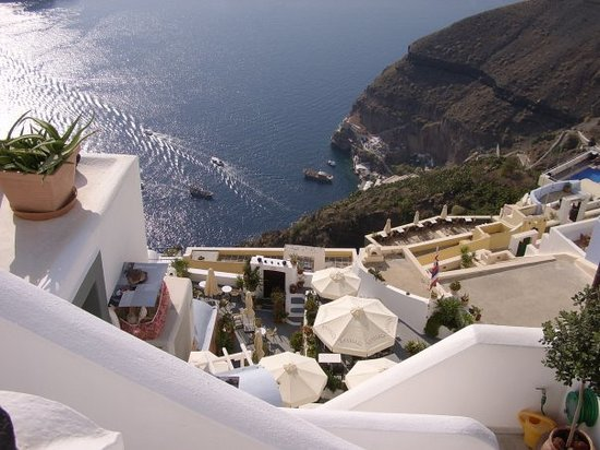 Fira, Greece: Santorini