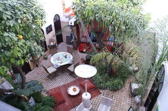 Riad Aguerzame: The Courtyard