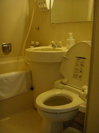 Plaza Hotel Tenjin: bathroom