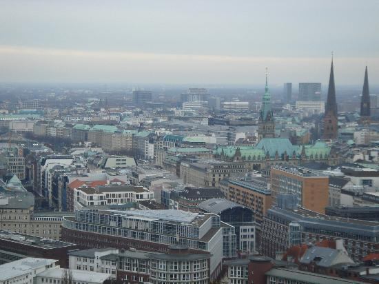 The Madison Hamburg : View from 'Michel'