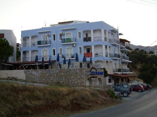 Hotel Areti: Abenddämmerung