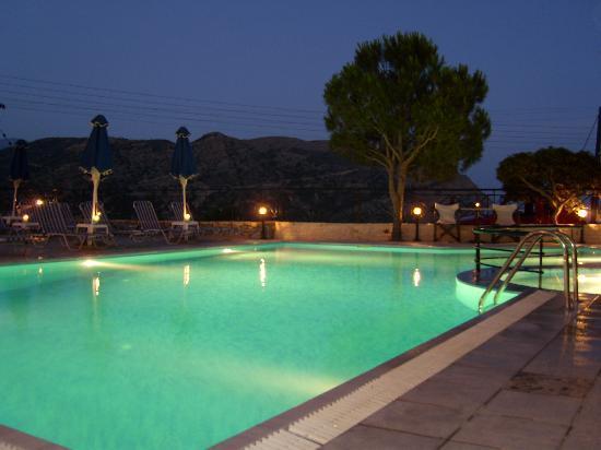 Hotel Areti: Beginn eines schönen Abend