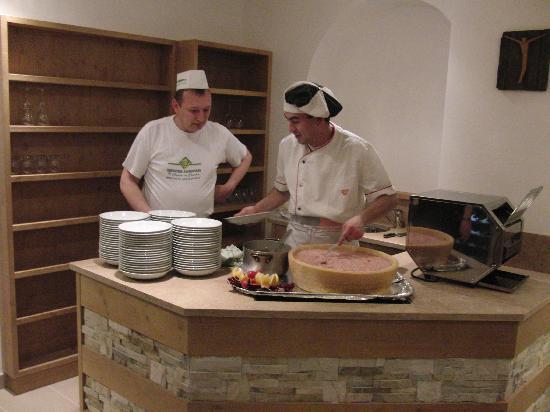 Ciasa Alpina Relax Hotel: Chef