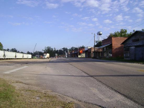 Front Street, ghost town REPTON, Alabama