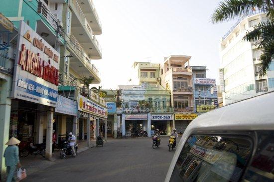 Rach Gia town center