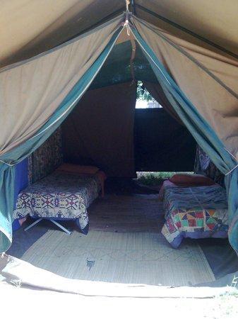 Shoestrings Lodge: Shoestrings Vic Falls tienda de campaña twin en renta
