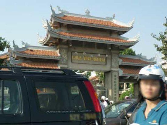 ホーチミン市, ベトナム, ヴィンギエム寺(車窓)
