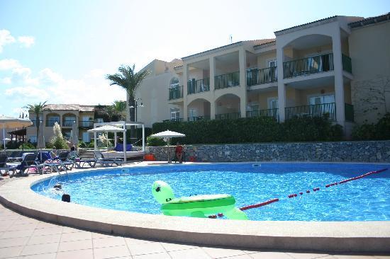 Cala Mesquida, España: View from club pool