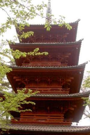 Ichikawa, Japan: 五重塔(国指定重要文化財)