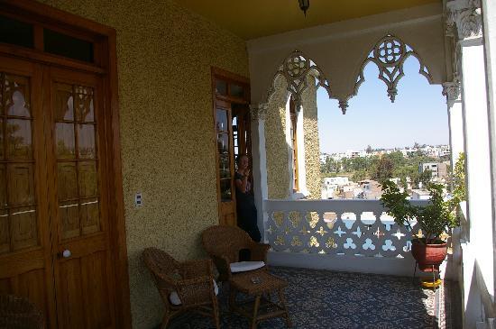 Posada el Castillo: balcony