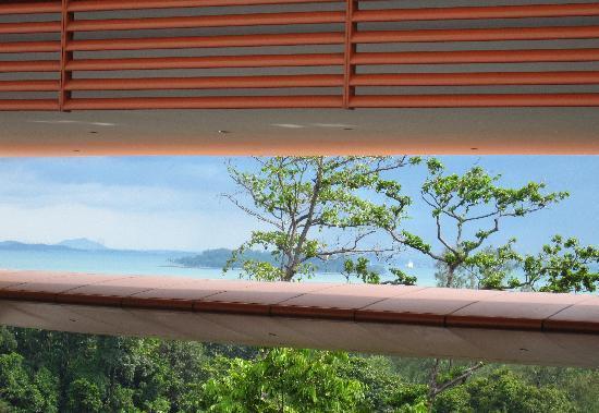 Capella Singapore: View Through the Trees