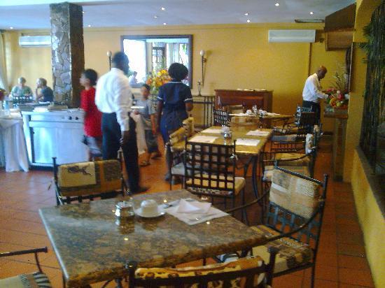 Hotel Mocambicano: Hotel Mozambicano restaurante