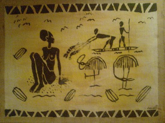 Hotel Mocambicano: Hotel Mozambicano decoraciones