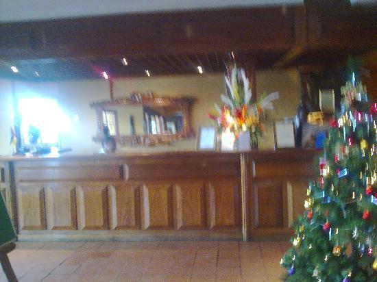 Hotel Mocambicano: Hotel Mozambicano recepcion