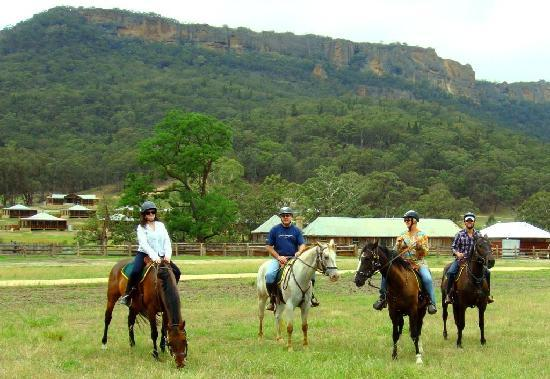 Emirates One&Only Wolgan Valley: Riding group