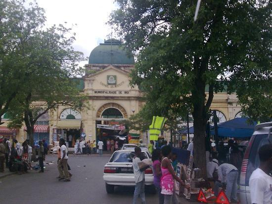 Africa, Mozambique. Capital city of Maputo, Municipal City ... |Maputo Mozambique Market
