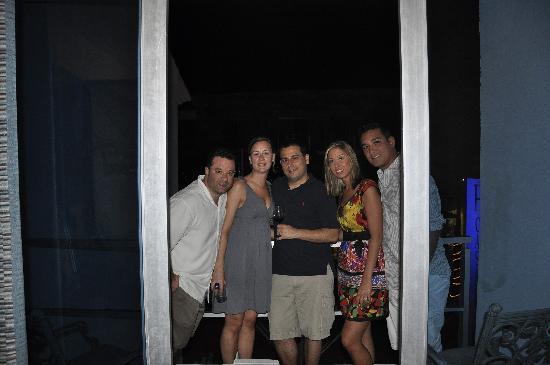 Hotel Casa Ticul : us on the balcony