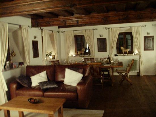 Skofja Loka, Slovenia: a relaxing yet elegant dining experience...