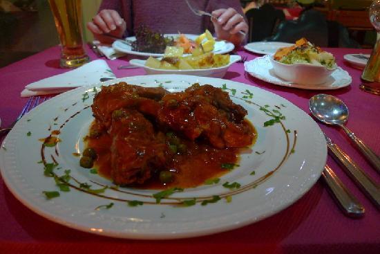 Ta'Peter Restaurant : Rabbit!