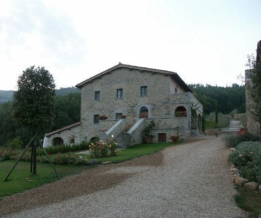 Casa Portagioia: View of the main building..