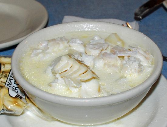 "Causeway Restaurant: A ""small"" Clam Chowder - it's huge!"
