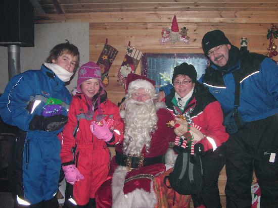 Davvi Arctic Lodge: sorry, fake santa didnt impress me