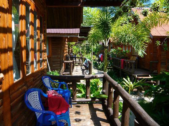 Banana Garden Home: Bungalows and garden