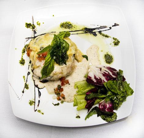 Restaurant 4: Veggie Lasagna